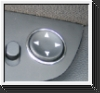Ring mirror adj. button, chromed, BMW E87, E90,E91,E92,E93&E39
